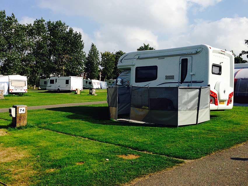 Motorhome camping Trencreek Newquay
