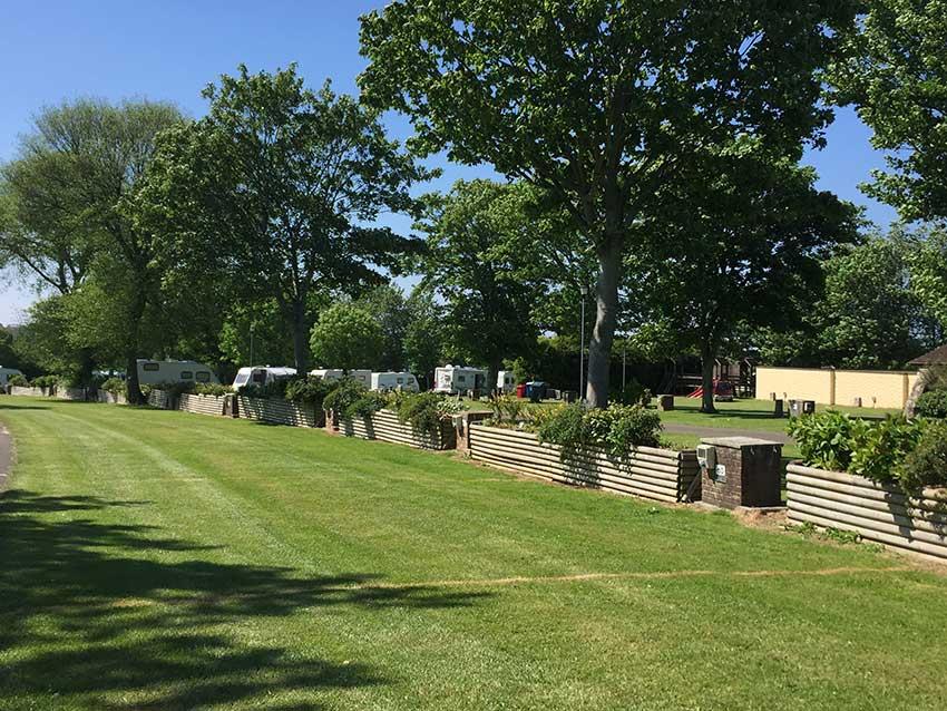 Campsite Newquay Trencreek