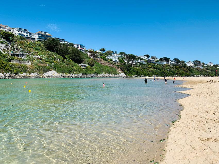 The Gannel Crantock Beach