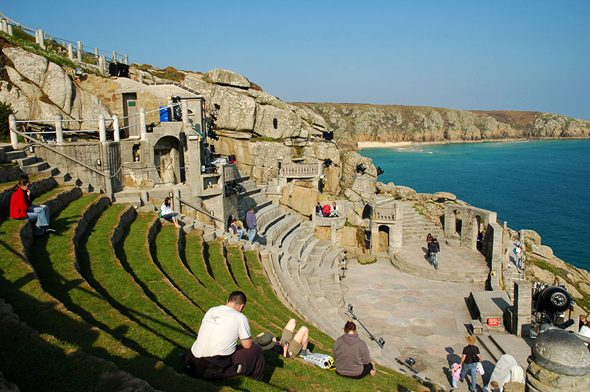 The Minack Theatre Near Lands End