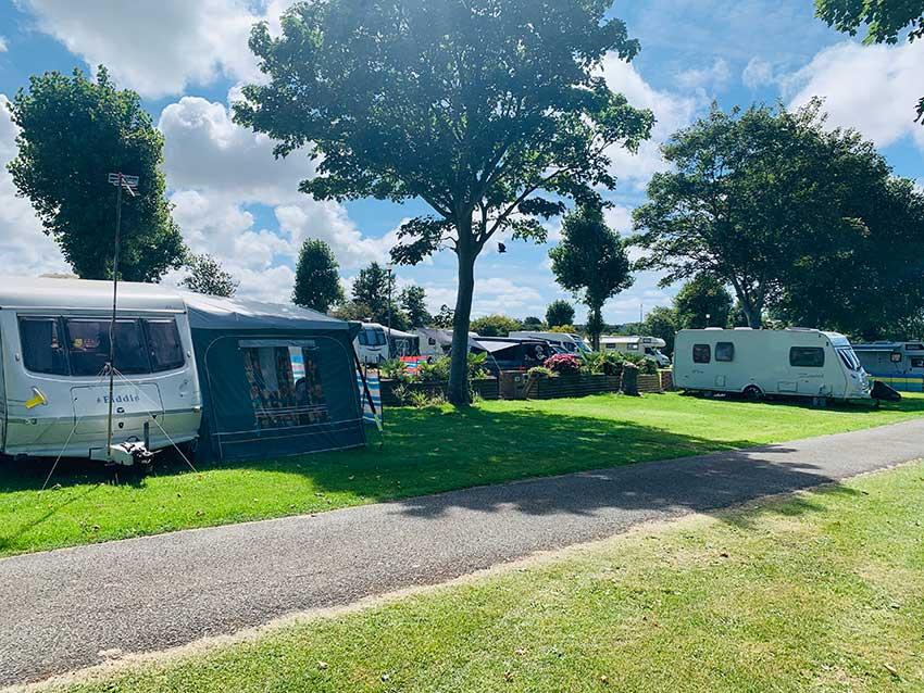 Camping Trencreek Holiday Park Newquay
