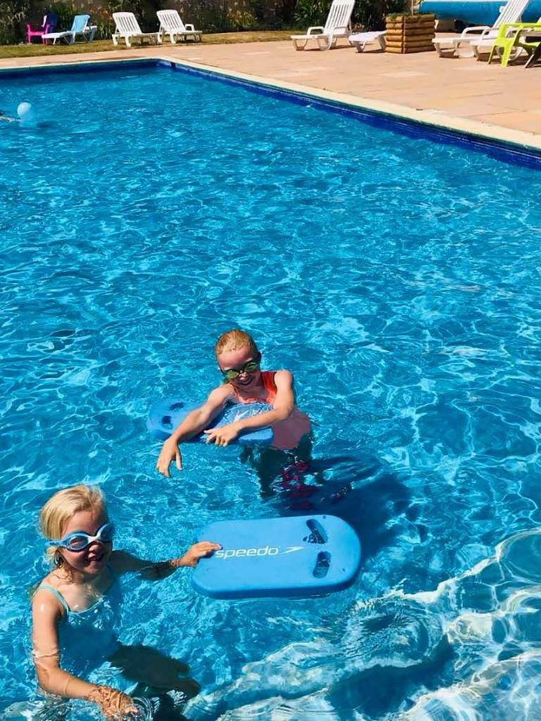 Heated Swimming Pool Trencreek Holiday Park