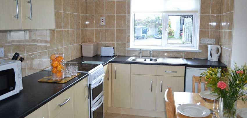 Holiday Home Kitchen Newquay